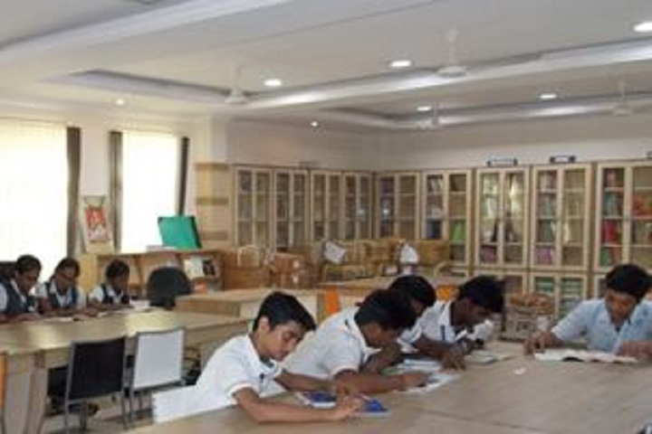 Nandha Central City School-Library