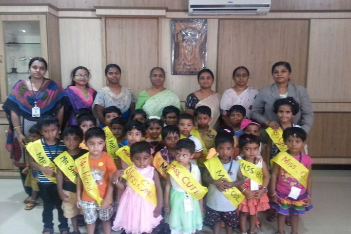 Nandha Central School-Freshers Day