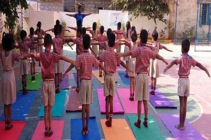 Narayana E-Techno School - Excersize Day