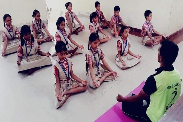 Narayana E-Techno School - Yoga day