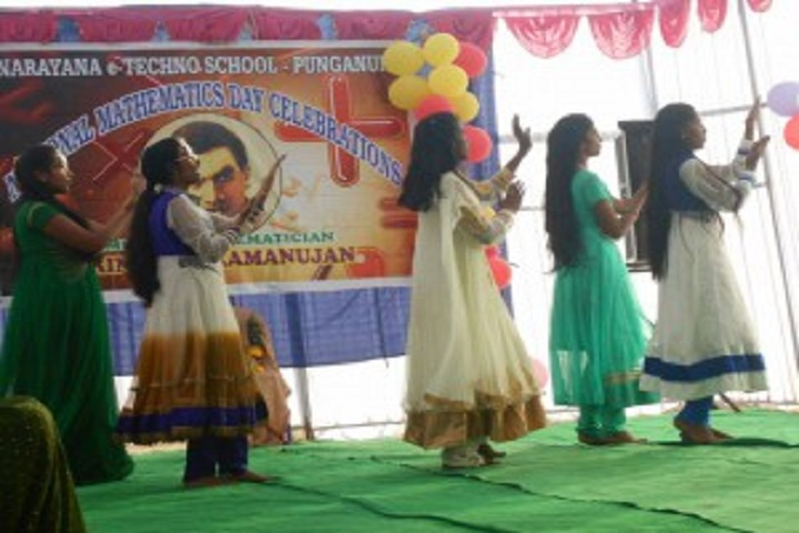 Narayana Olympiad School-Dances