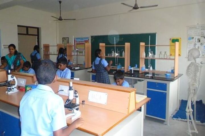 National Vidyalaya Senior Secondary School-Chemistry lab