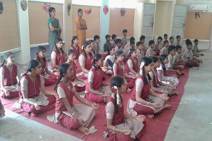 National Vidyalaya Senior Secondary School-Yoga Day