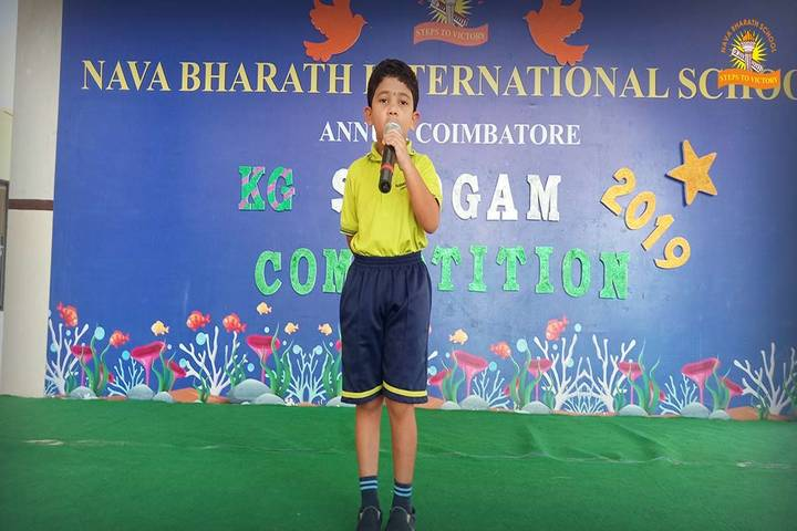 Nava Bharath International School-Recitation