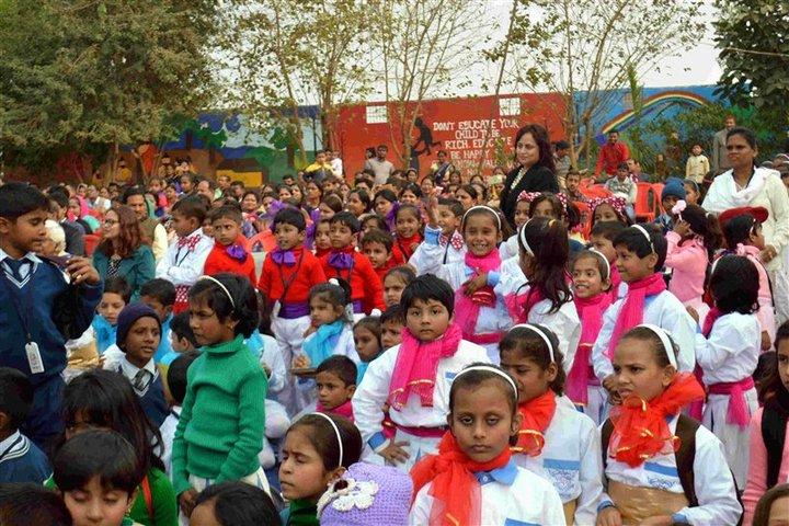 Patmer School-Rangoli Christams Celebrations