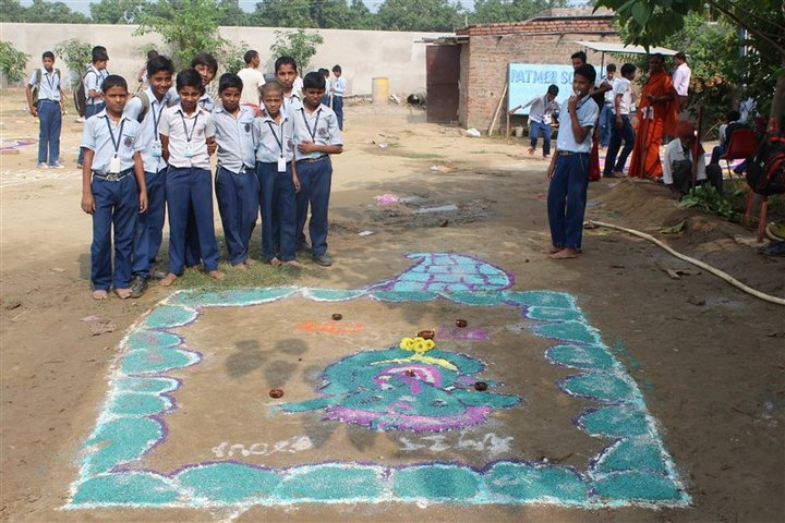 Patmer School-Rangoli Competition