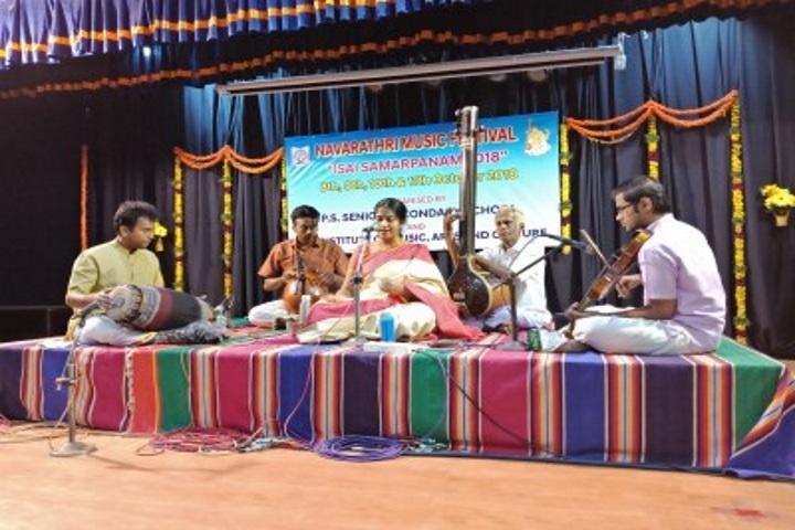 P S Senior Secondary School-Cultural Music Event