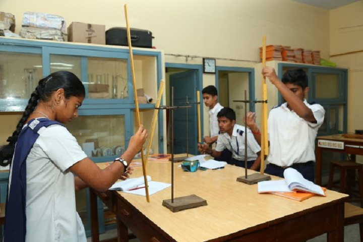 P S Senior Secondary School-Physics Lab