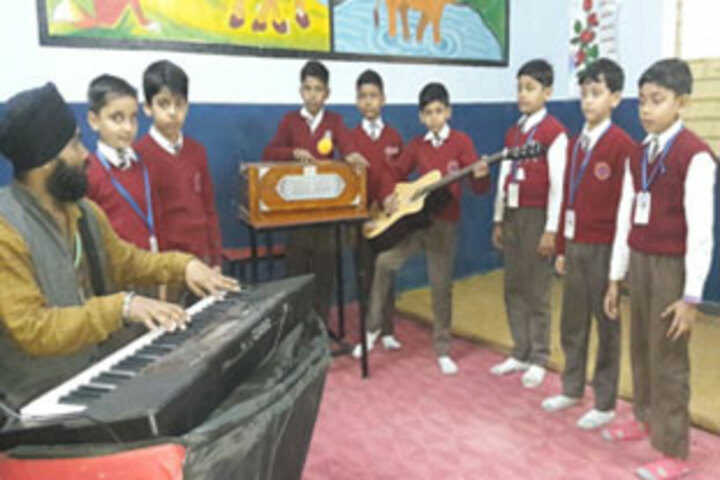 Patna Doon Public School-Music Room