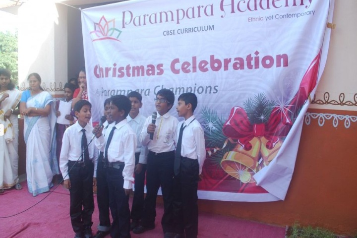 Parampara Academy-Christmas Celebrations