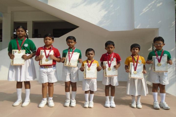 Peace On Green Earth Public School-Certificate Distribution