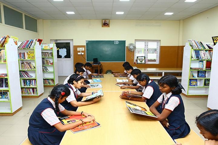 Peace On Green Earth Public School-Library