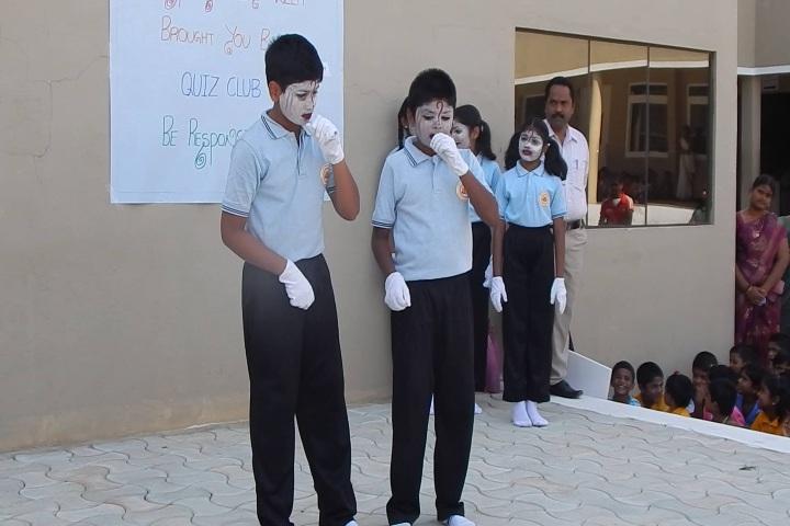 Pon Vidya Mandir Senior Secondary School-Face Painting