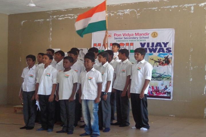Pon Vidya Mandir Senior Secondary School-Independence Day