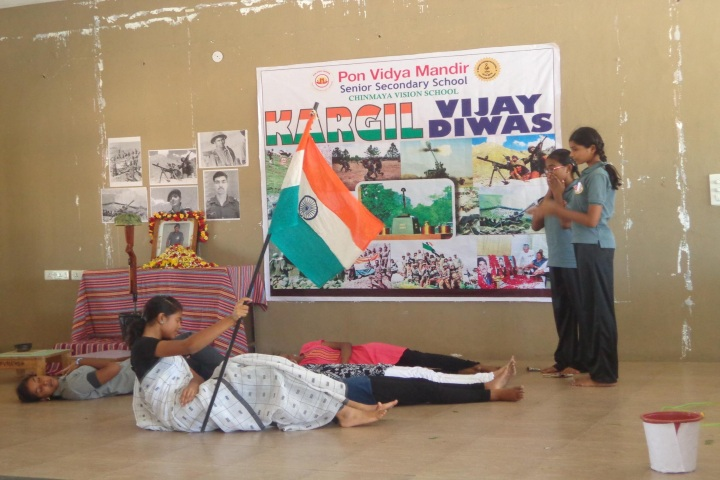 Pon Vidya Mandir Senior Secondary School-Khargil Vidya Diwas
