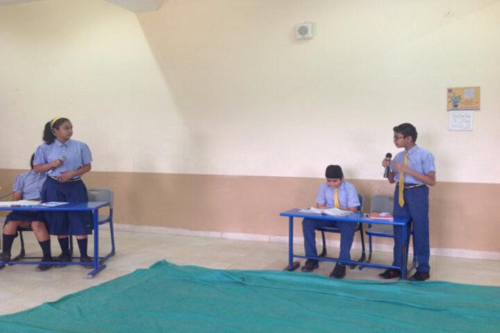 Podar International School-Debate