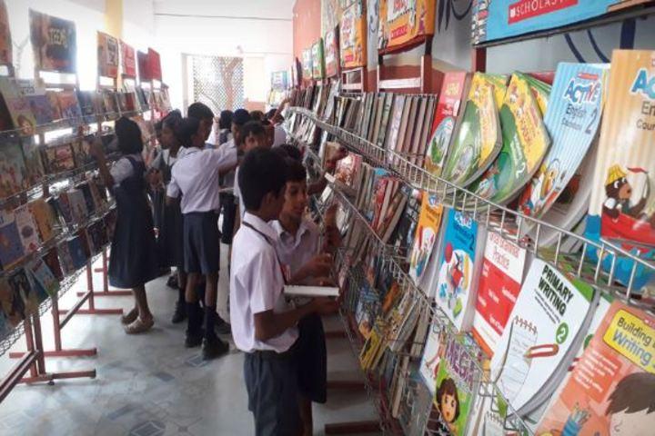 Pushpalata Vidya Mandir-Book Exhibition