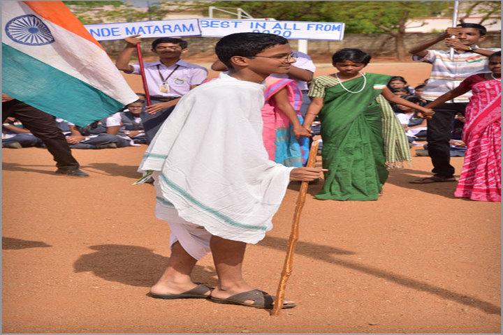 Pushpalata Vidya Mandir-Independence Day