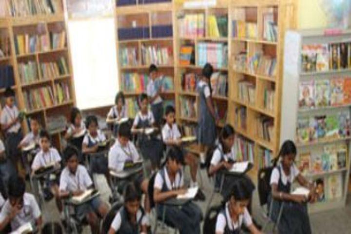 Pushpalata Vidya Mandir-Library