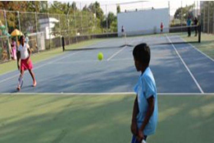 Pushpalata Vidya Mandir-Tennis Court