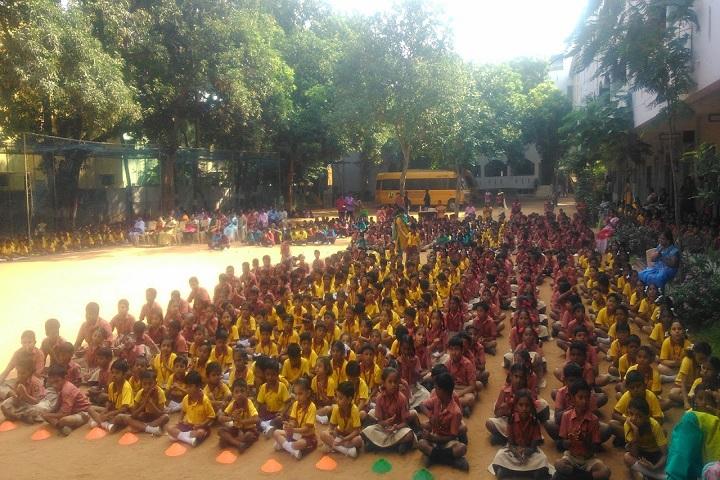 Ramana Vidyalaya-ground
