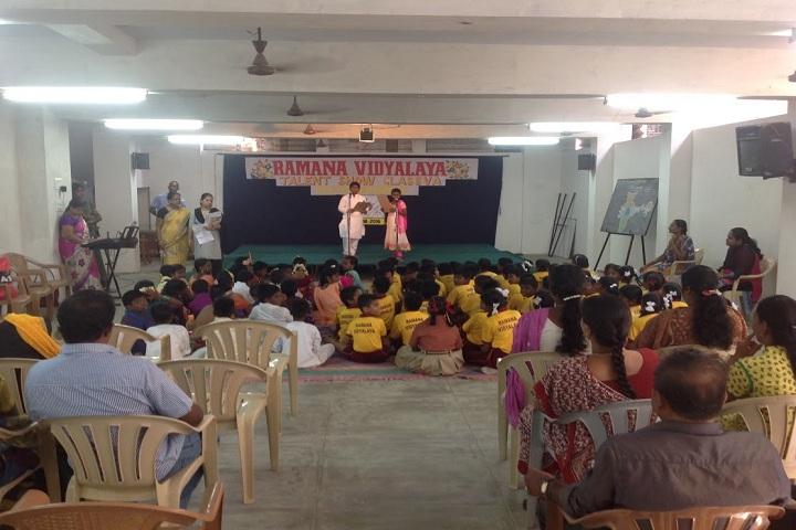 Ramana Vidyalaya-hall