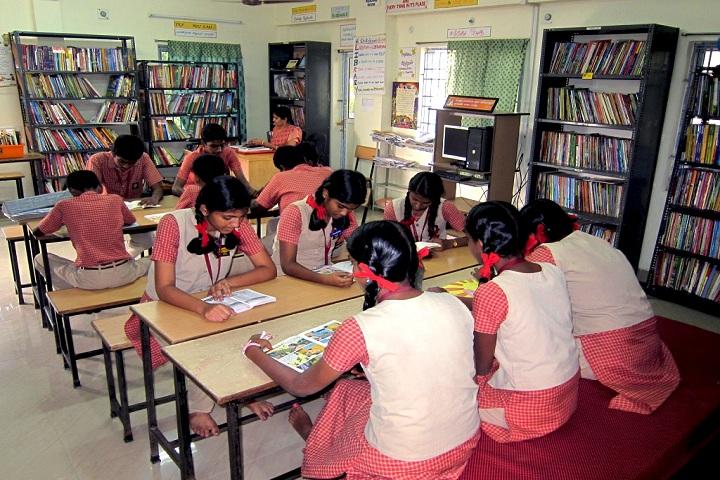 Ramana Vidyalaya-library