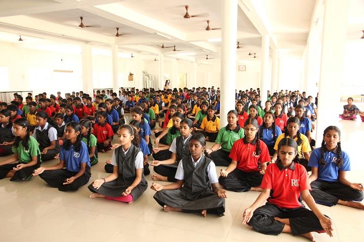 RD International School-Meditation