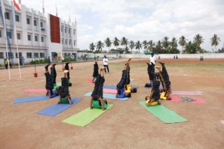 RD International School-Yoga