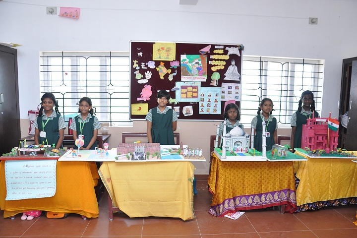 Rose Mary Ideal Public School-Exhibition