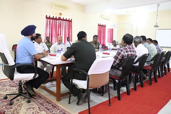 sainik school amaravathinagar - Civil members meet