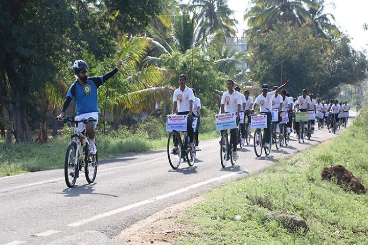 Sainik School-Cycle Rally