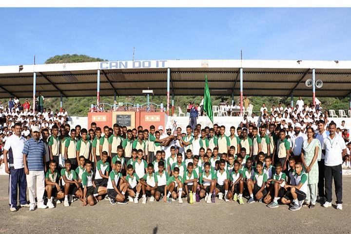 Sainik School-Inter House Cross Country