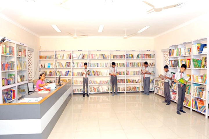 Samadh Higher Secondary School-Library