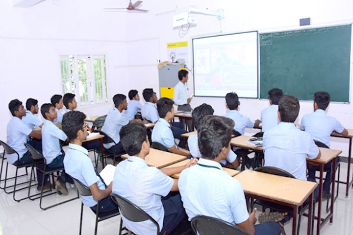 Samadh Higher Secondary School-Smart Classroom