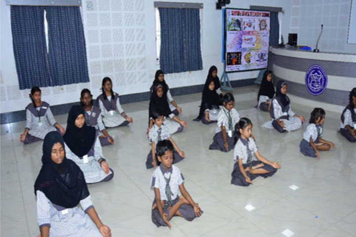 Samadh Higher Secondary School-Yoga