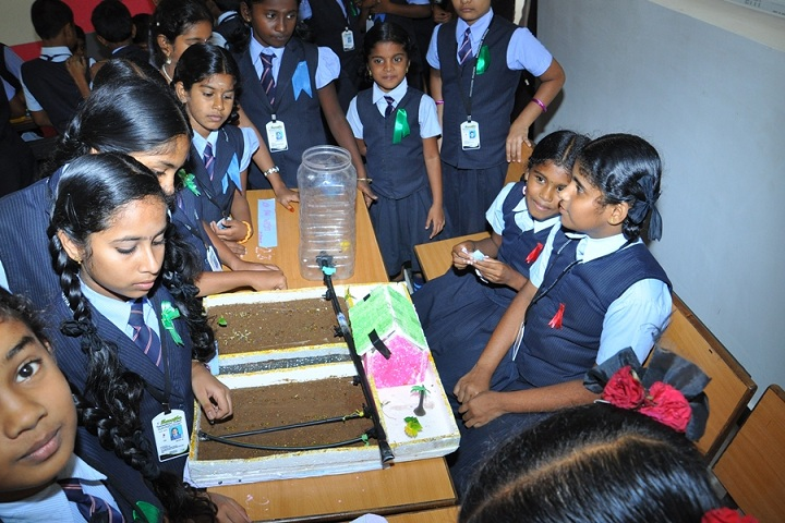 Saratha International School-Exhibition