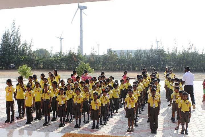 SAV Balakrishna School-Assembly