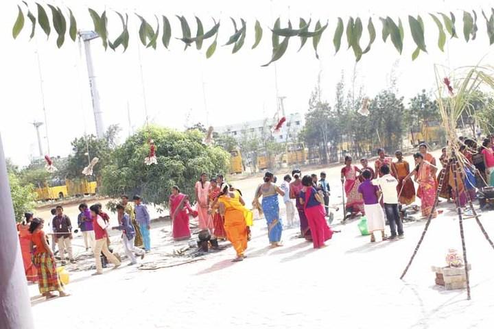 SAV Balakrishna School-Festival Celebration