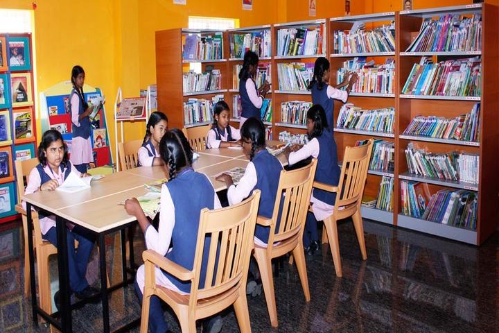 SAV Balakrishna School-Library