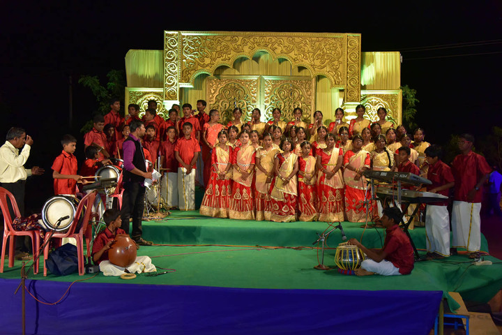 SAV Balakrishna School-Music Competition
