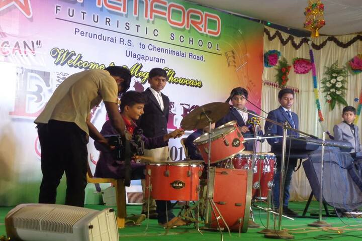 Shemford Futuristic School-Music Competition