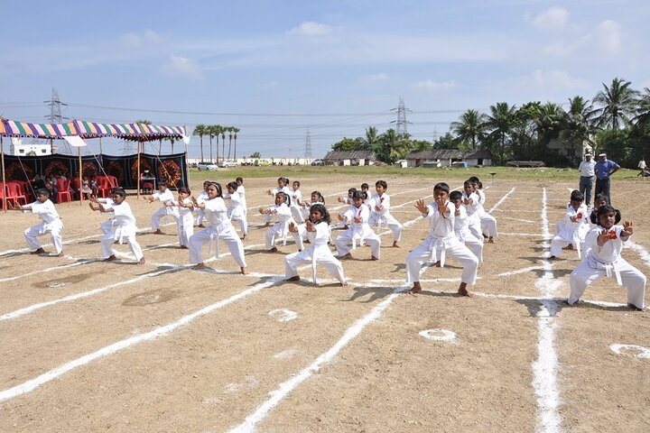 Shree Sankalpa School-Karate