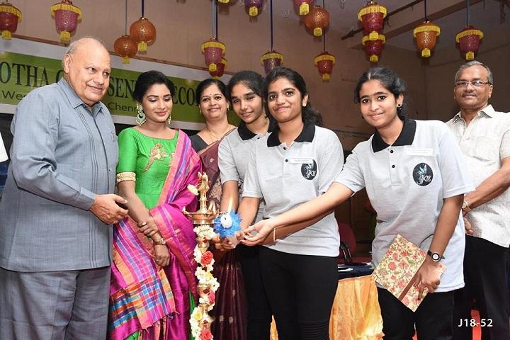 Shri B.S.Mootha Girls Senior Secondary School - Jainotsav