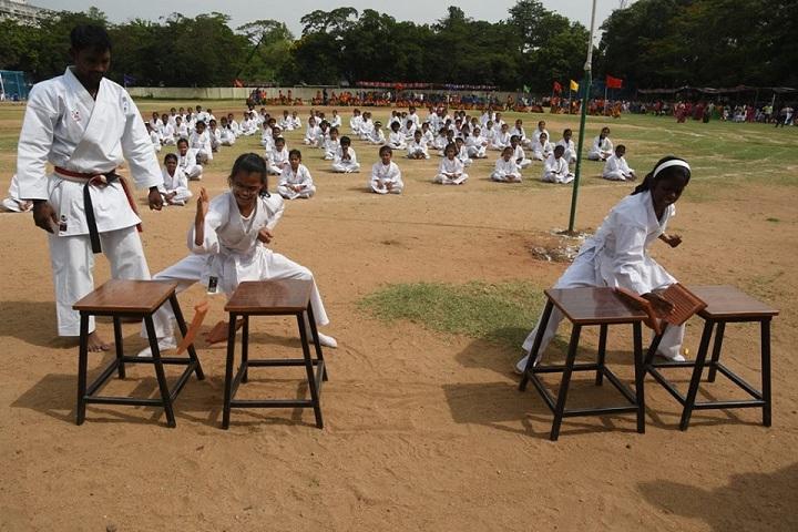 Shri B.S.Mootha Girls Senior Secondary School - Karate