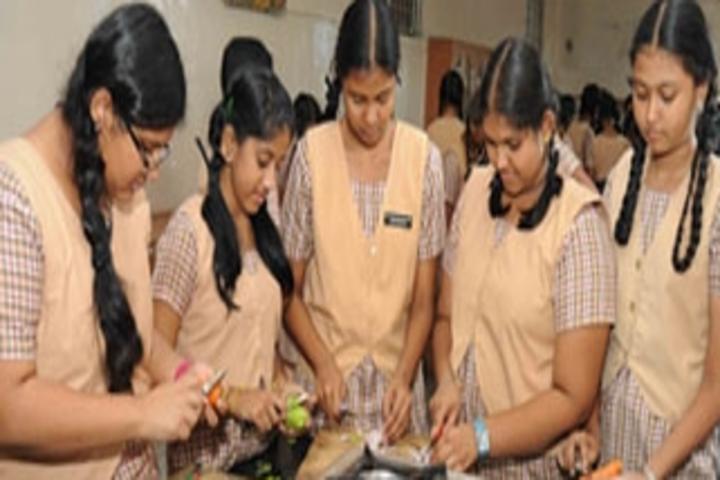 Shri B.S.Mootha Girls Senior Secondary School- Home Science Activity