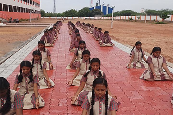 Shri Jayendra Vidhyalaya - Meditation
