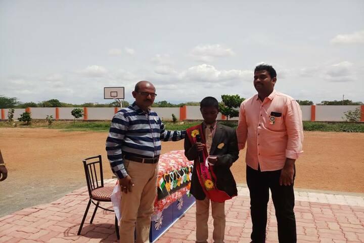 Shri Jayendra Vidhyalaya - Awarding
