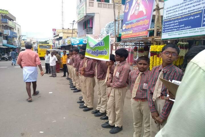 Shri Jayendra Vidhyalaya - Awareness Activity