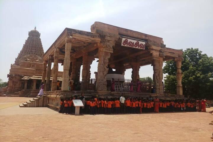 Shri Jayendra Vidhyalaya - Field trip